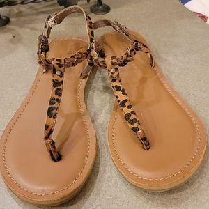 Leopard Print Sandals 🐆